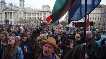 Protesty w Budapeszcie