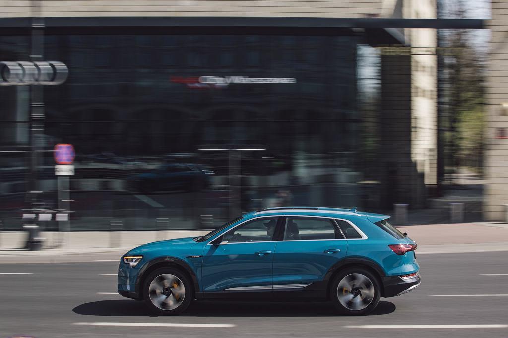 Elektryczne Audi e-tron