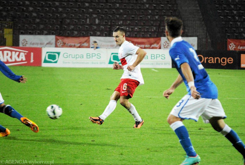 Jesienią 2013 w Szczecinie odbył się mecz Polska - Włochy (0:3) kadr U-20