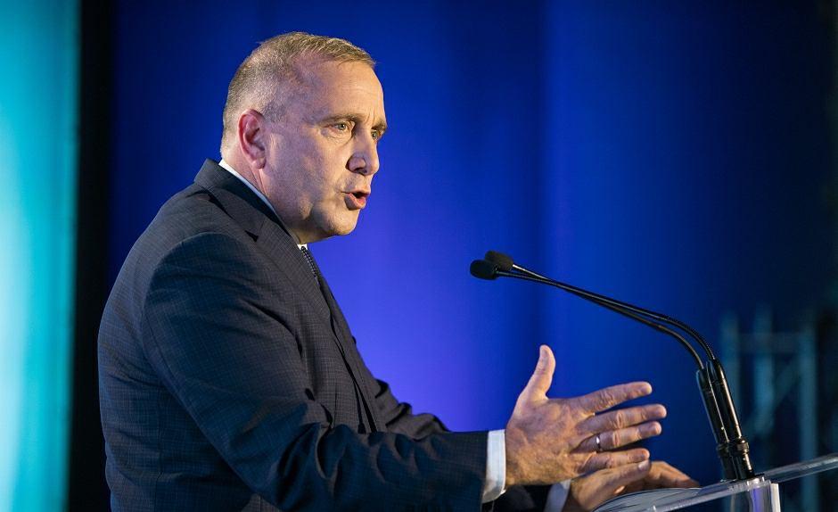 Grzegorz Schetyna, lider Koalicji Europejskiej, szef PO