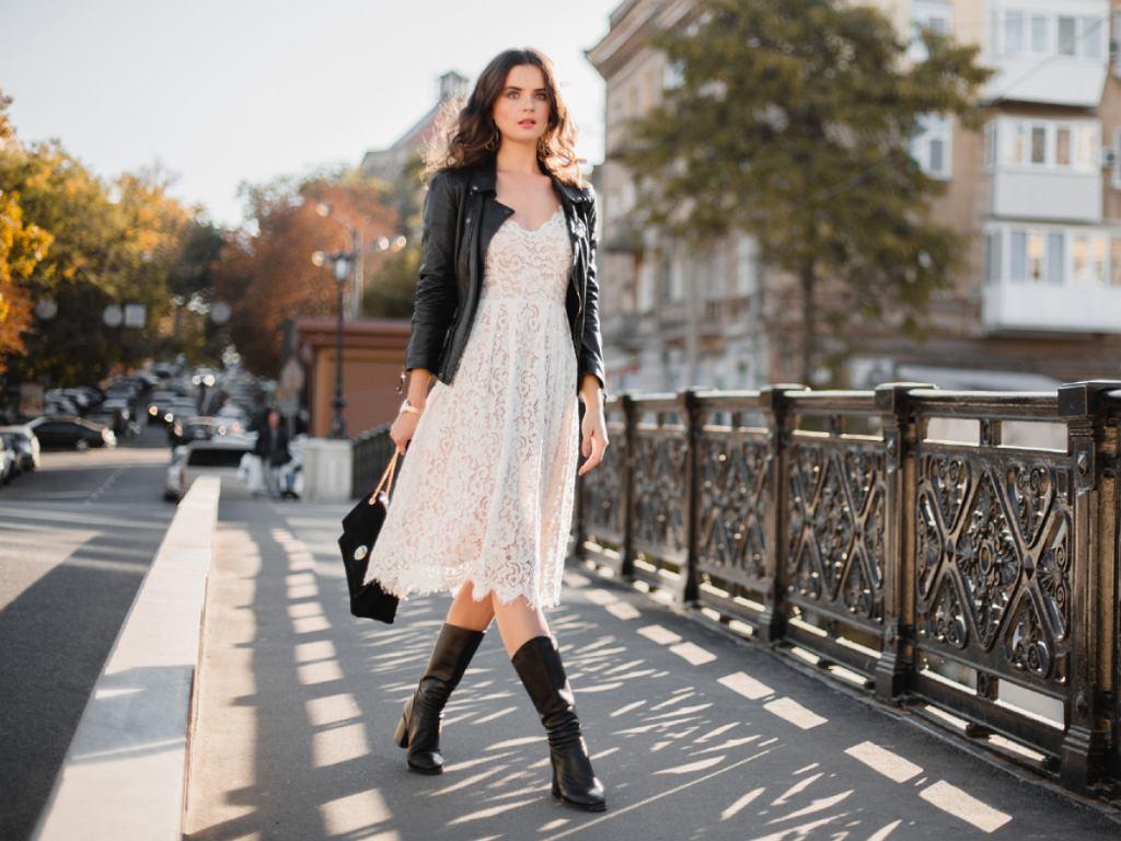 Sukienka haftowana - wiosna 2020