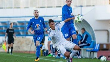 Lech Poznań - Dynamo Kijów 0:2 w sparingu w Hiszpanii. Dawid Kownacki