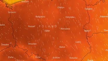 Upały w Polsce trwają
