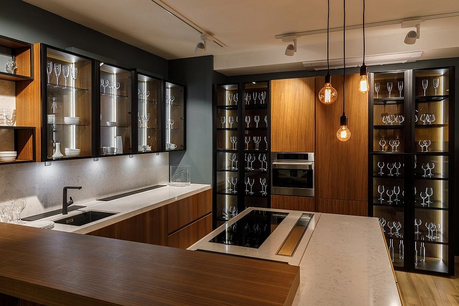Żarówka dekoracyjna w kuchni