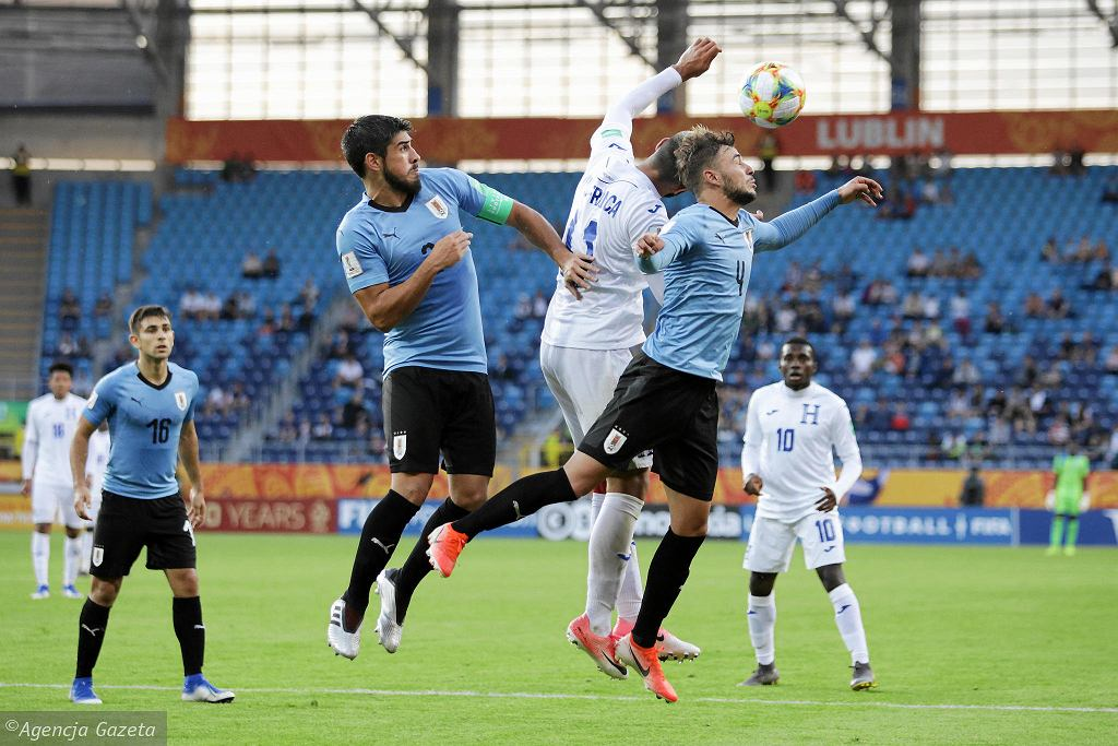 MŚ U-20. Arena Lublin. Honduras - Urugwaj 0:2