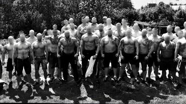 Członkowie Wisła Sharks (fot. kadr z programu 'Superwizjer'/TVN)