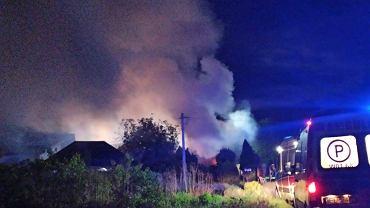 Pożar w Nowej Wsi