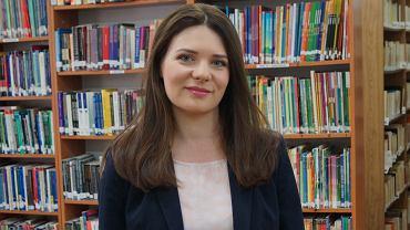 Dr Beata Piecychna z Wydziału Filologicznego Uniwersytetu w Białymstoku