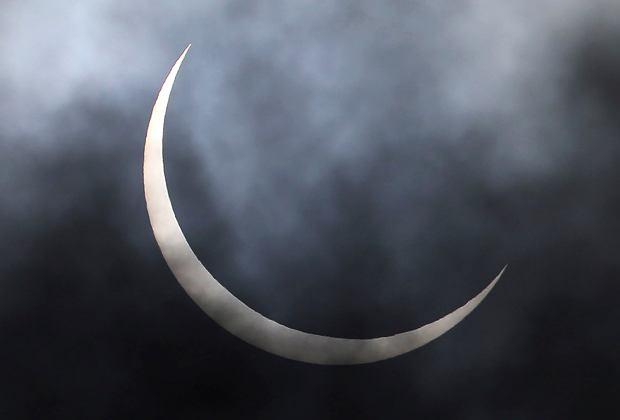 Zaćmienie Słońca 21.06.2020 - Indie