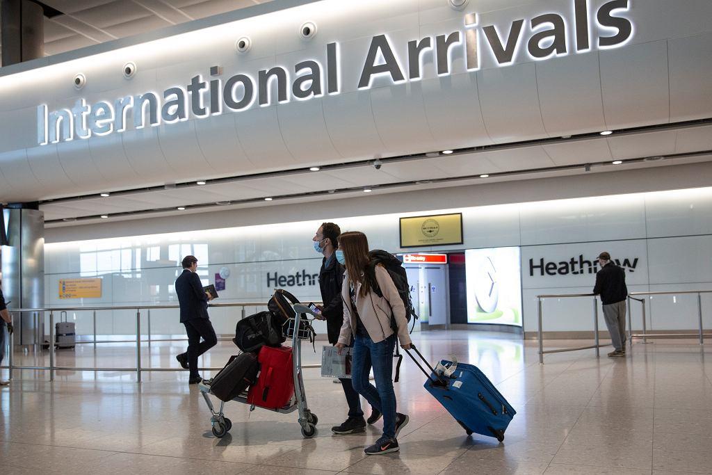 Lotnisko Heathrow, 3 lipca 2020 r.