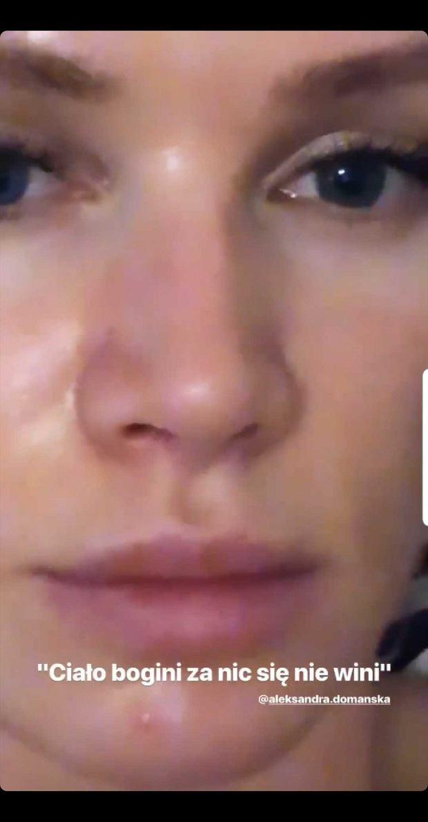 Maffashion bez makijażu