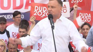 Duda straszy w Bolesławcu: Niemcy chcą wybierać w Polsce prezydenta!