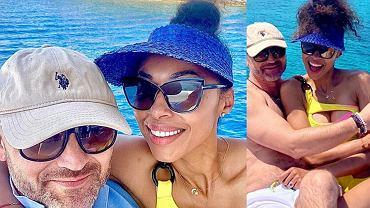 Omenaa Mensah na wakacjach w Chorwacji. Gwiazda pozuje w obiektywie męża i prezentuje zgrabne ciało. Ujęcie bez makijażu - obłęd!