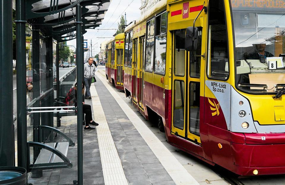 Tramwaj w Łodzi (zdjęcie ilustracyjne)