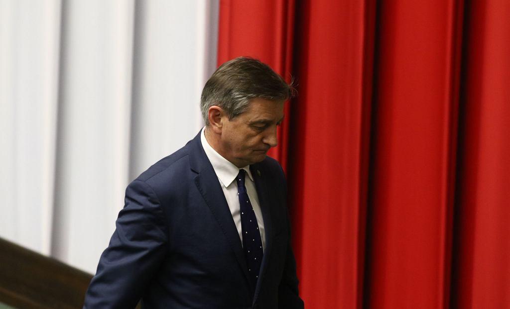 Marszałek Marek Kuchciński w Sejmie