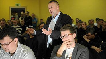 Walne zebranie w Stomilu Olsztyn i wybory nowego prezesa piłkarskiego klubu (30 czerwca 2014)