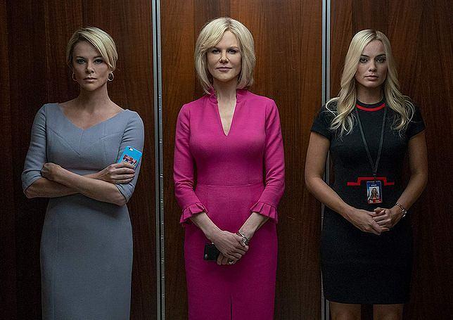 Charlize Theron, Nicole Kidman i Margot Robbie w 'Bombshell'