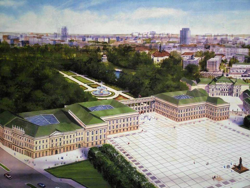 Projekt odbudowy Pałacu Saskiego