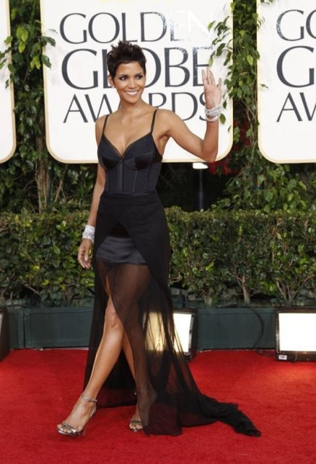January 16, 2011, Beverly Hills, California, USA: Halle Berry at the 68th Annual Golden Globe Awards on Sunday, January 16, 2011 at the Beverly Hilton Hotel in Beverly Hills, CA.. Credit: Jay L. Clendenin / Los Angeles Times / Polaris
