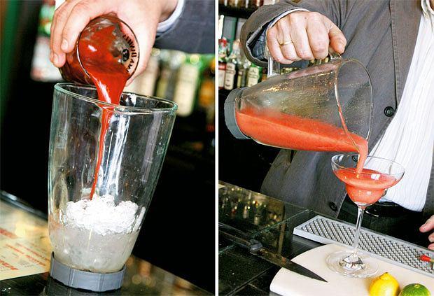Mój pierwszy raz: jak zostać barmanem, mój pierwszy raz, alkohol, drinki, MARGARITA TRUSKAWKOWA