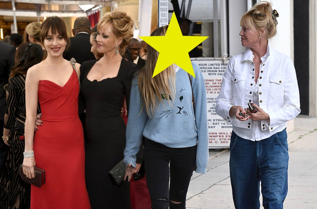 Dakota Johnson, Melanie Griffith i Stella Banderas