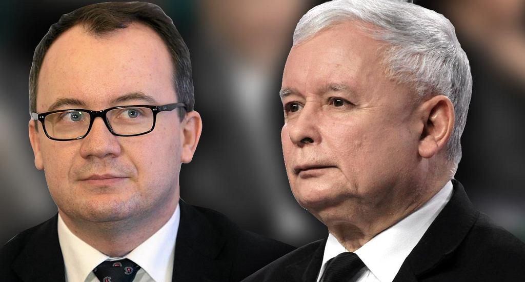 Adam Bodnar i Jarosław Kaczyński