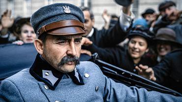 Film 'Piłsudski'. Borys Szyc