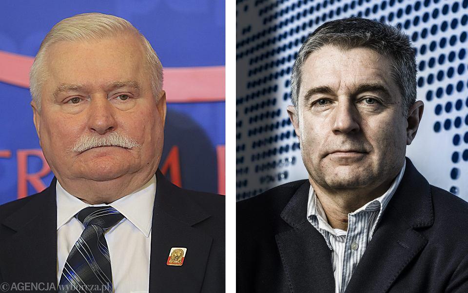 Lech Wałęsa i Władysław Frasyniuk