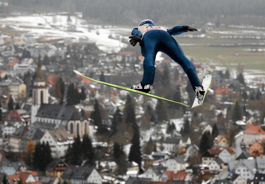 Thomas Morgenstern na skocznią w Titisee-Neustadt