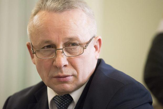 Członek KNF Zdzisław Sokal. Warszawa, 26 stycznia 2017