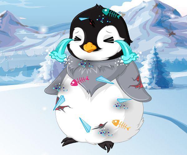 Na pomoc pingwinkowi!
