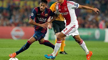 Neymar i Ricardo van Rhijn
