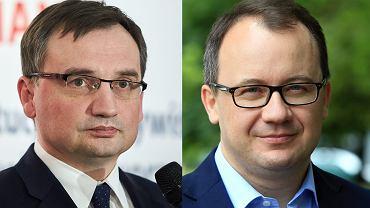 Minister sprawiedliwości Zbigniew Ziobro, Rzecznik Praw Obywatelskich Adam Bodnar.