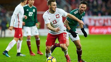 Maciej Rybus w meczu z Meksykiem