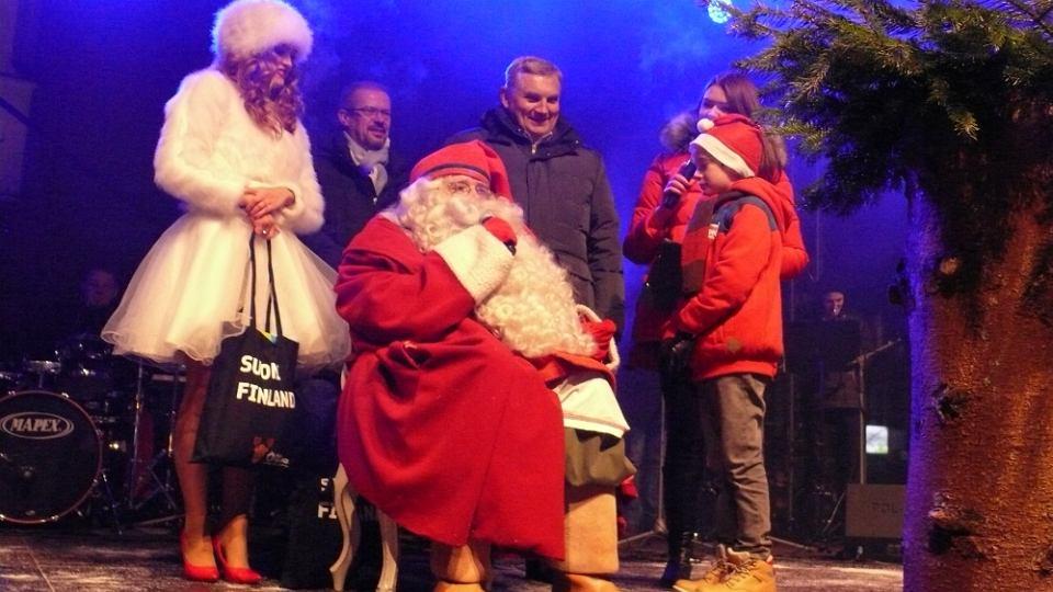 Mikołaj z Rovaniemi Białystok odwiedzał już kilka razy