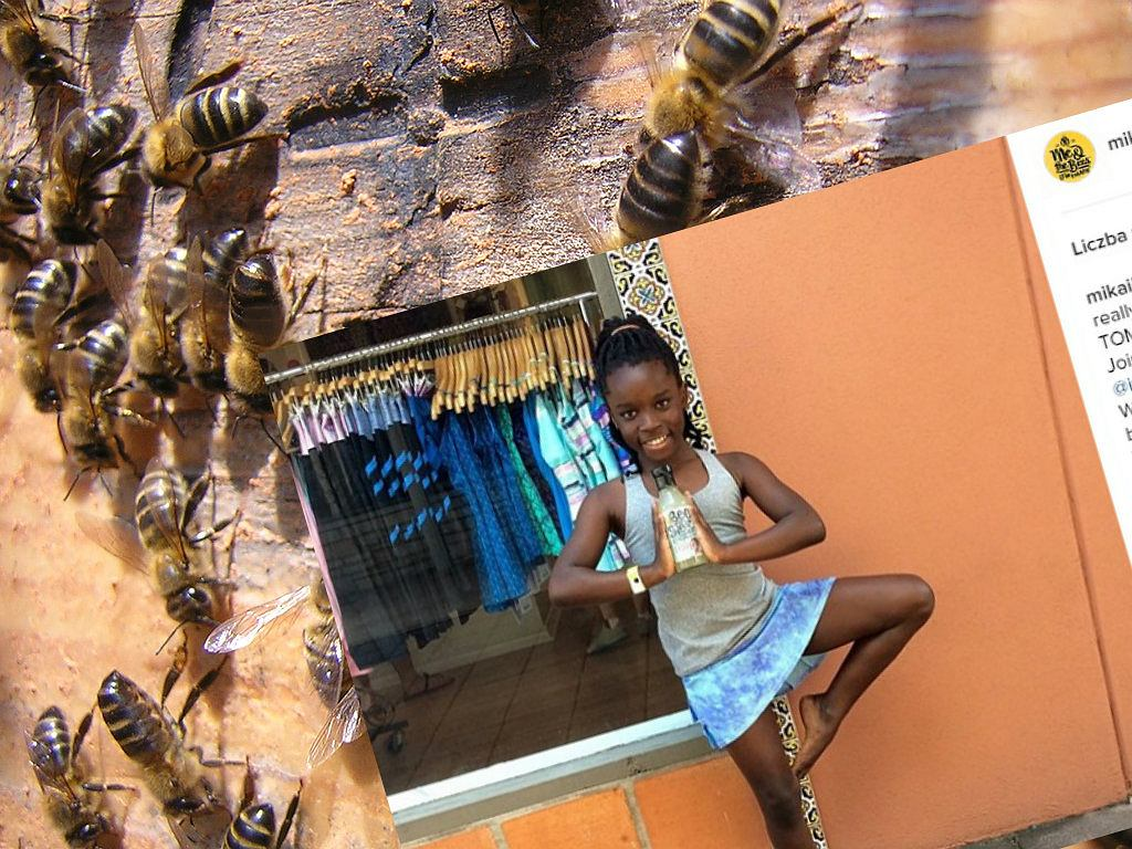 Dzięki użądleniu pszczoły została milionerką