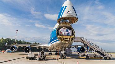 Jumbo Jet przyleciał na lotnisko w Pyrzowicach.