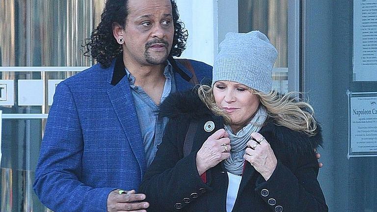 Urszula z mężem