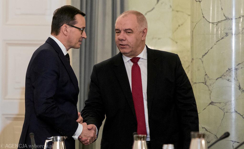 Posiedzenie Rady Gabinetowej w Warszawie
