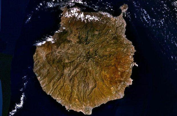 Gran Canaria, fot. NASA
