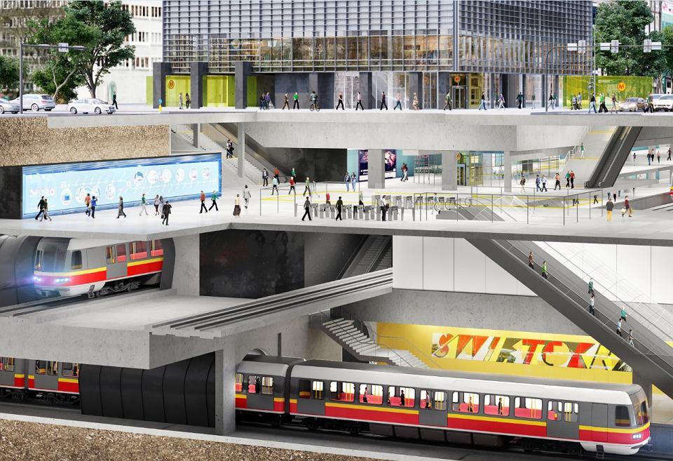 Zdjęcie numer 1 w galerii - Ale wizualizacja! Inwestor pokazał wieżowiec Central Point na przecięciu dwóch linii metra