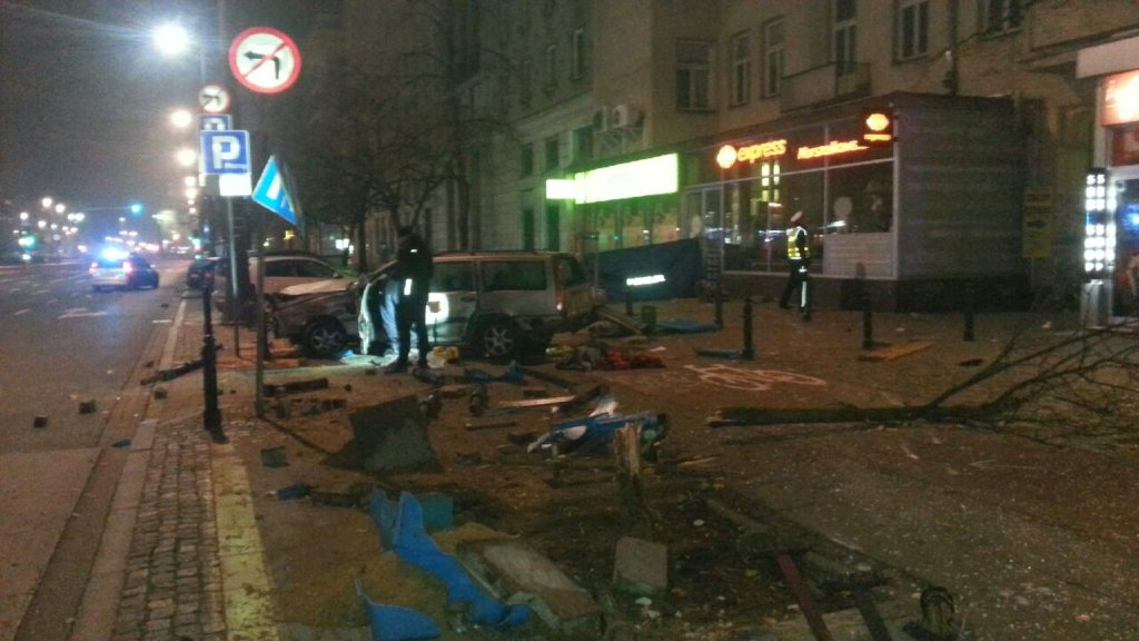 Pijany kierowca zabił dwóch mężczyzn na Marszałkowskiej