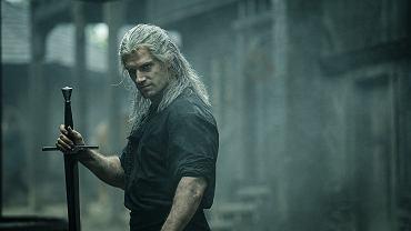 Henry Cavill jako Geralt z Rivii w serialu 'Wiedźmin'
