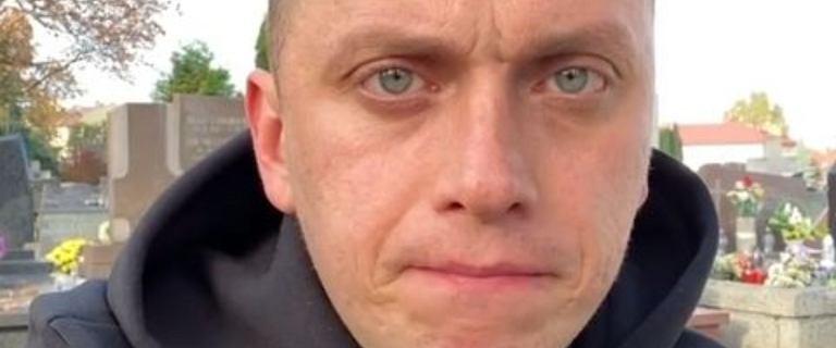 Dziennikarz TVN o osobistej tragedii. Odwiedził grób zmarłego syna