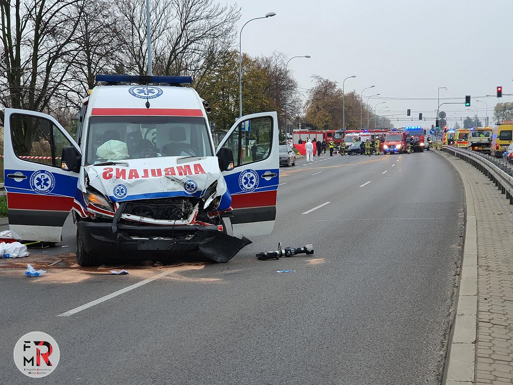 Wypadek w Broniszach