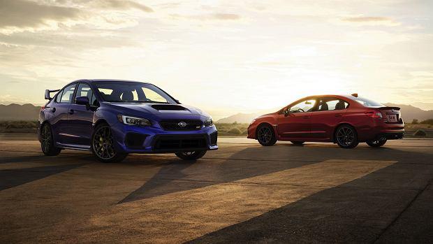 Subaru Impreza WRX i WRX STI 2017