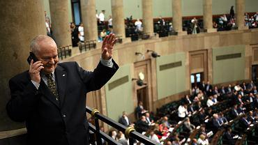 Prof. Adam Glapiński, jeszcze jako kandydat na prezesa NBP. 20. posiedzenie Sejmu VIII Kadencji. Warszawa, 10 czerwca 2016
