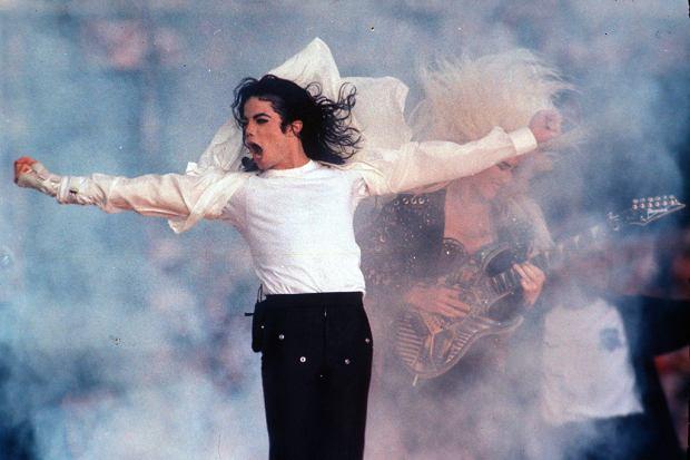 Michael Jackson podczas koncertu w Pasadenie z 1993 roku