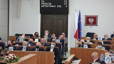 Posiedzenie Senatu ws. lex TVN