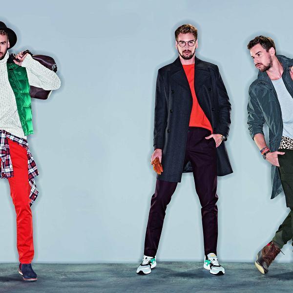 Trendy w modzie męskiej na jesień 2013